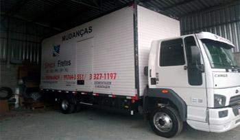 Caminhão de Mudança em Blumenau